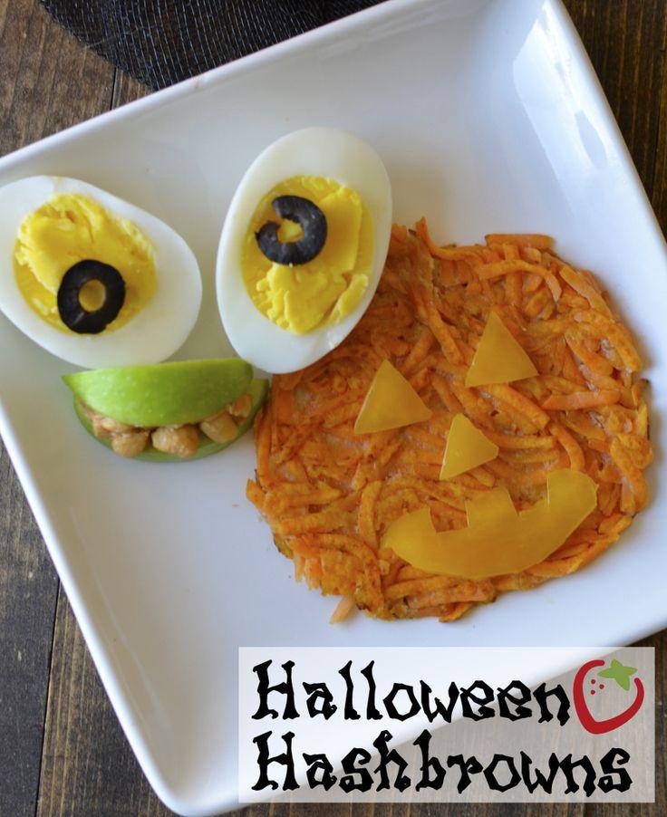 Fun Halloween breakfast to start the festivities in a healthy way!