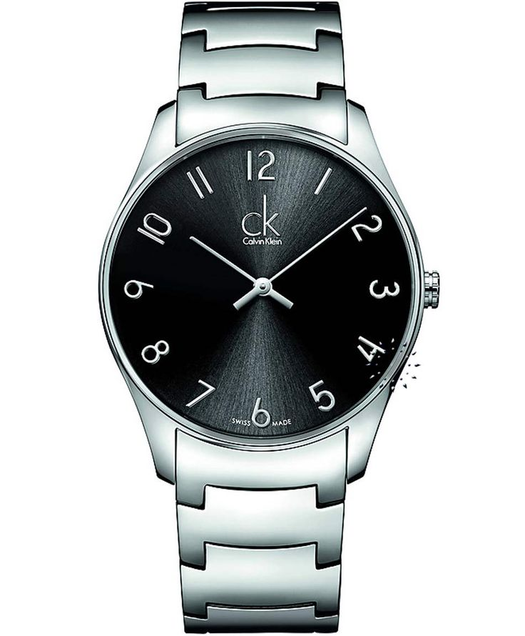 CALVIN KLEIN New Classic Stainless Steel Bracelet, 175€ http://www.oroloi.gr/product_info.php?products_id=33655