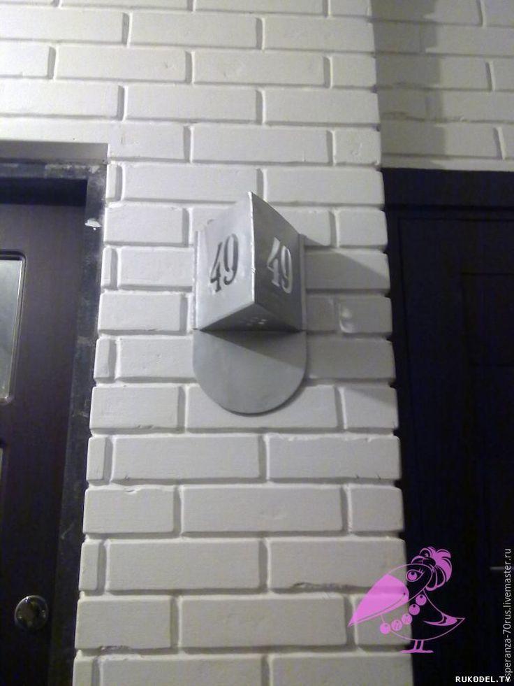 Имитация кирпичной кладки в стиле лофт, своими руками - Интерьер своими руками - Поделки для дома - Каталог статей - Рукодел.TV