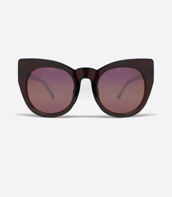Chacha Sunglasses - Chocolate by Quay