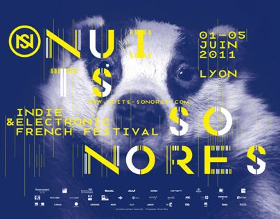 Consulter ce projet @Behance: «Nuits Sonores Festival 2011» https://www.behance.net/gallery/11199617/Nuits-Sonores-Festival-2011