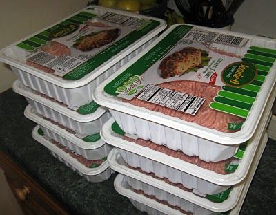 Ground Turkey Freezer cooking/we eat alot of turkey meals lower calorie and taste great cant wait to try these!