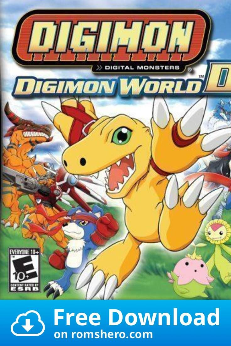 Download Digimon World Ds Nintendo Ds Nds Rom Nintendo Ds Digimon Nintendo
