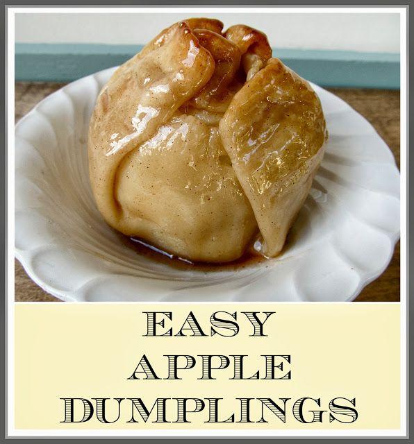 Easy Apple Dumplings | Hymns and Verses