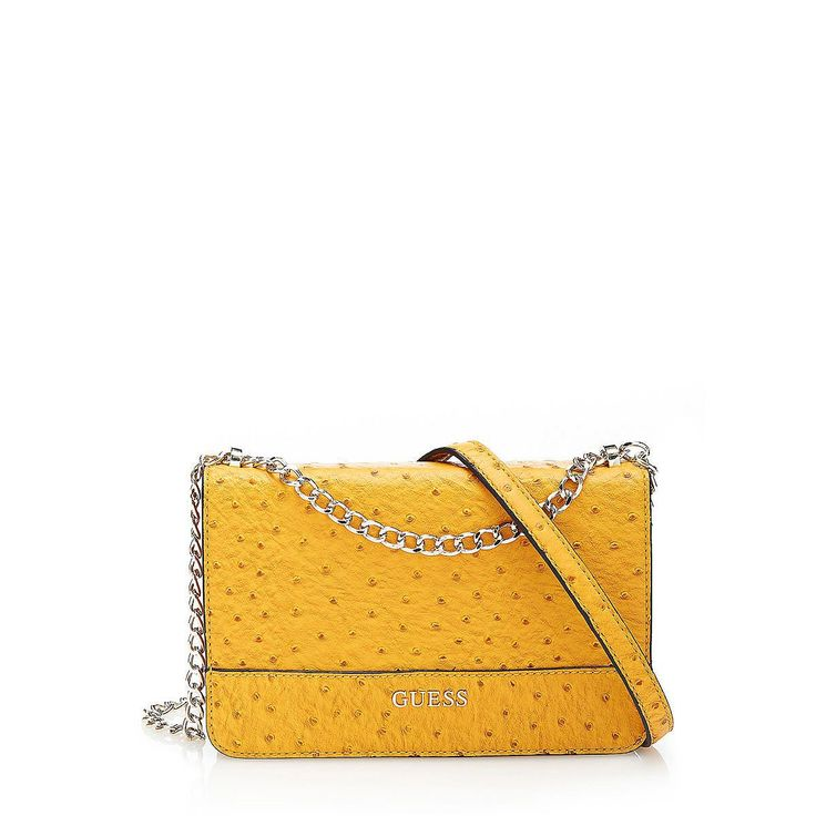 Umhängetasche Nikki hostric flap    Alle kleinen Dinge sind sicher untergebracht und durch die Innentaschen einfach zu finden. Die Handtasche überzeugt auch durch ihr Äußeres, denn das Muster in Strauß-Optik ein Geheimtipp für einen gelungenen Abendlook.    Als einzelne Schulterkette, Länge ca. 120 cm.  Als zwei Kettenhenkel, Länge ca. 75 cm.  Goldene Metallelemente.  Multifunktionsinnentaschen...