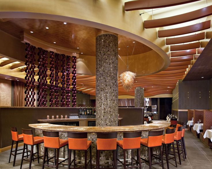 General Mini Bar With Exotic Granite Countertops Design And A Restaurant Fabulous Restaurant And Bar Interior Design Ideas With Rounded  Distinctive Restaurant Design Idea in the World