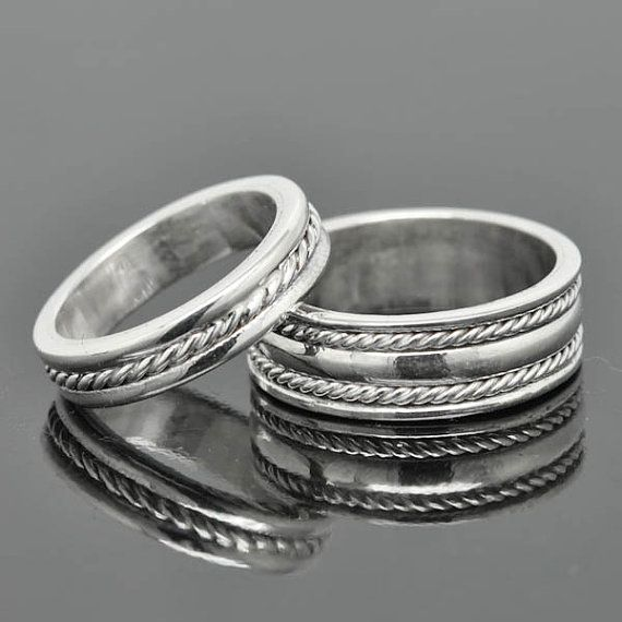 infinity ring wedding band wedding ring engagement by JubileJewel, $150.00