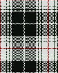 St Piran Cornish Flag Tartan | Cornwall: Designed by A. Armstrong Evans (Registry #1618)     ✫ღ⊰n
