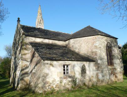 Sainte-Marguerite (Logonna-Daoulas): La chapelle se trouve sur la route qui mène à l'Hôpital-Camfrout.