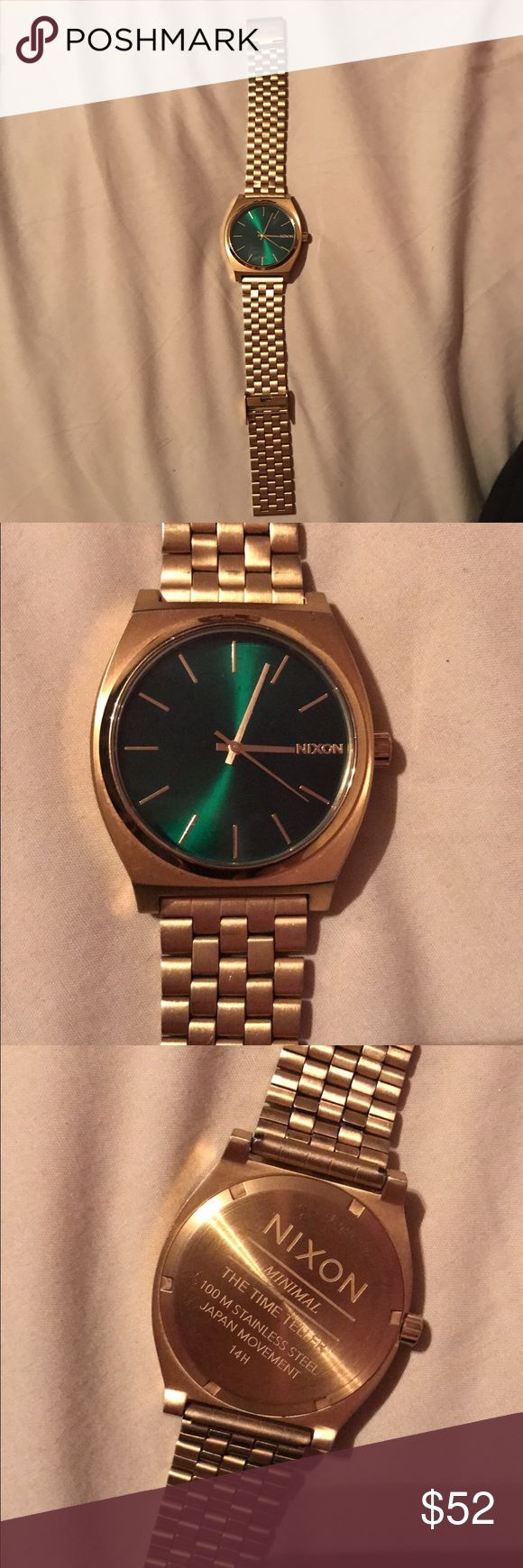 Men's Nixon Watch Great condition. Doesn't work but i think it might just need new batteries. Still a great watch to wear for looks, regardless. Make offers :) Nixon Accessories Watches