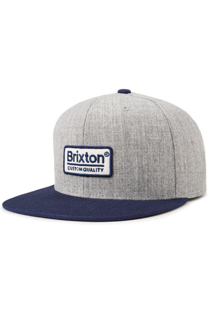 77e4c63f56b Brixton Palmer II MP Snapback Hat in 2018