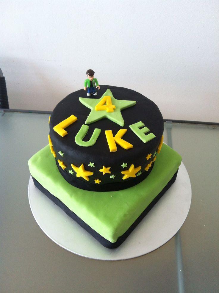 Ben 10 Cake Super Hero Ben 10 Pinterest Ben 10