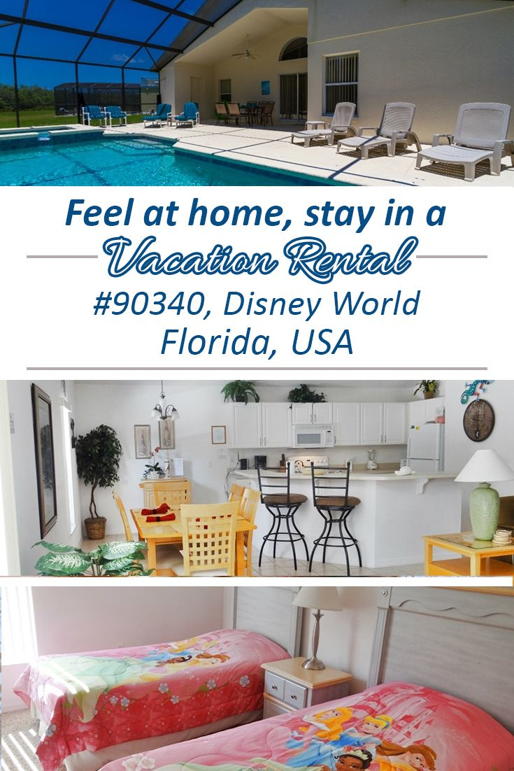 Set against a beautiful wooded backdrop, this rental vacation villa located in Disney World, Florida offers peace and tranquility after a busy day at the theme parks.