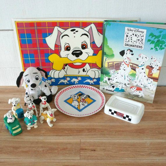 101 Dalmatians Kit Dalmatians Book 101 Dalmatian Figure Doggy