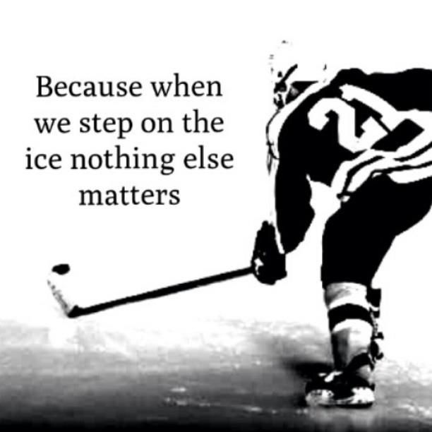 This is SO true for my 10 yr old Type1 diabetic son.  His passion is hockey.