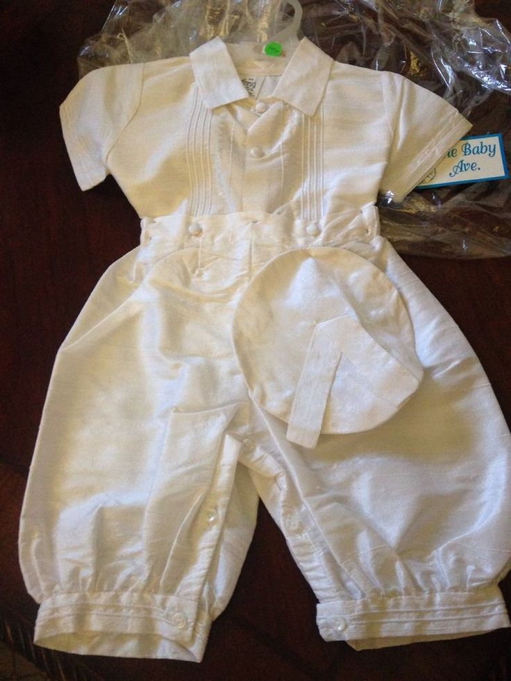 Boy's Baptism Outfit