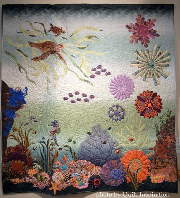 1000+ images about Aquarium & Sea quilts op Pinterest ...