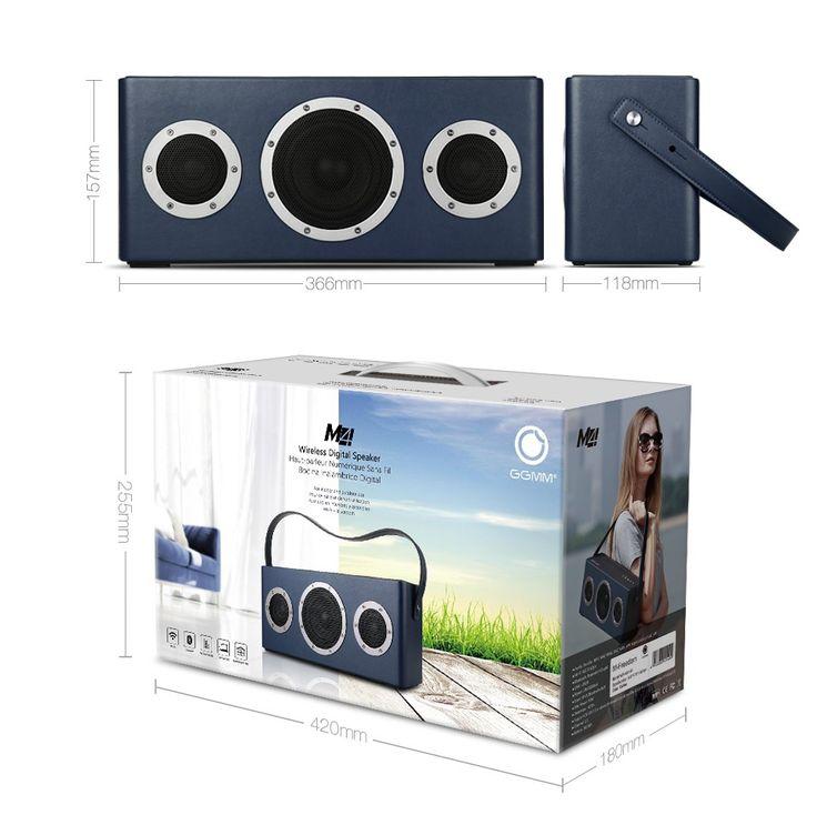 GGMM M4 Wi fi Profissional Sistema de Alto falantes Subwoofer Speaker Portátil Bluetooth Estéreo Sem Fio Poderoso com Fivestar em Ciaxas de som de Consumer Electronics no AliExpress.com | Alibaba Group