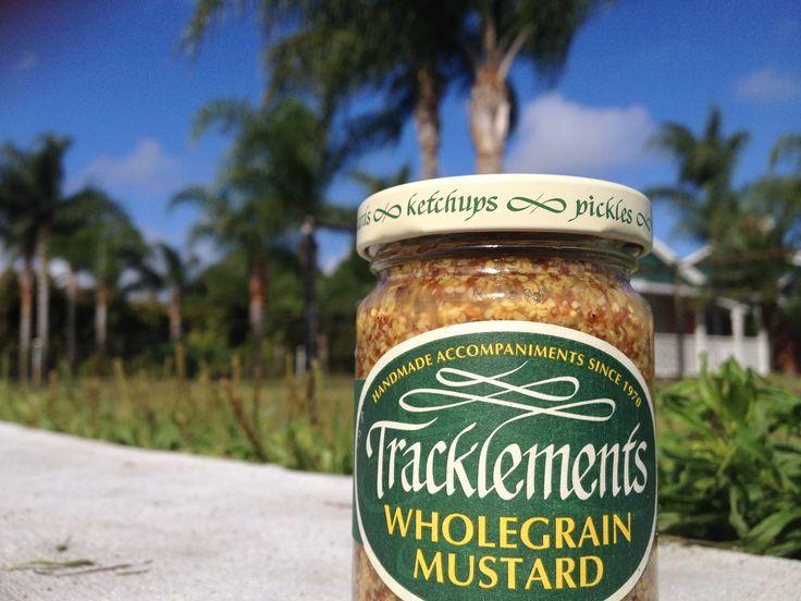 Wholegrain Mustard enjoying the Florida heat! #Tracklements #Florida #Mustard