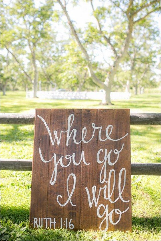 17 best ideas about wood wedding signs on pinterest for Wedding sign in ideas