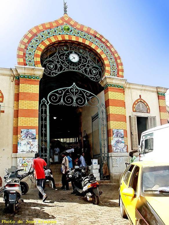 Market . Dakar Senegal
