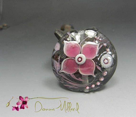 Artisan HANDMADE LAMPWORK beads artisan Glass Beads FOCAL
