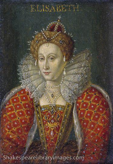 Queen Elizabeth 1 of England   ... oil painting portrait of Queen Elizabeth I of England and Ireland
