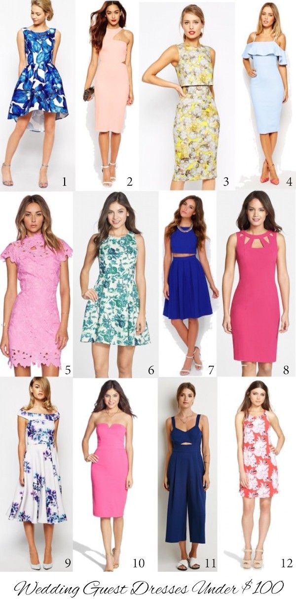 12 Wedding Guest Dresses Under $100