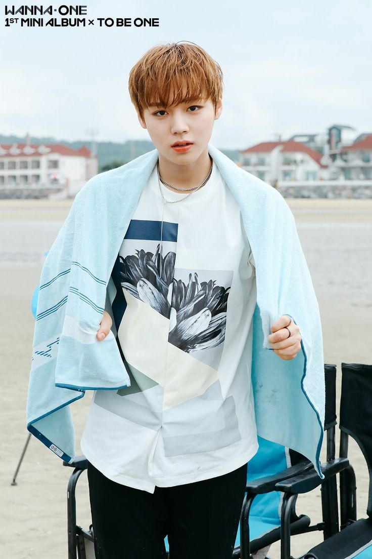 Jihoon - Wanna One | Burn it Up BTS Photos