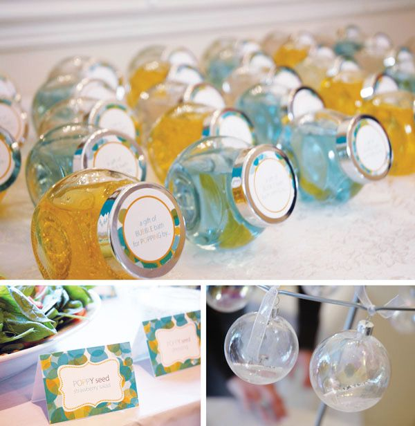 creative bubbles baby shower theme partyideas baby kids