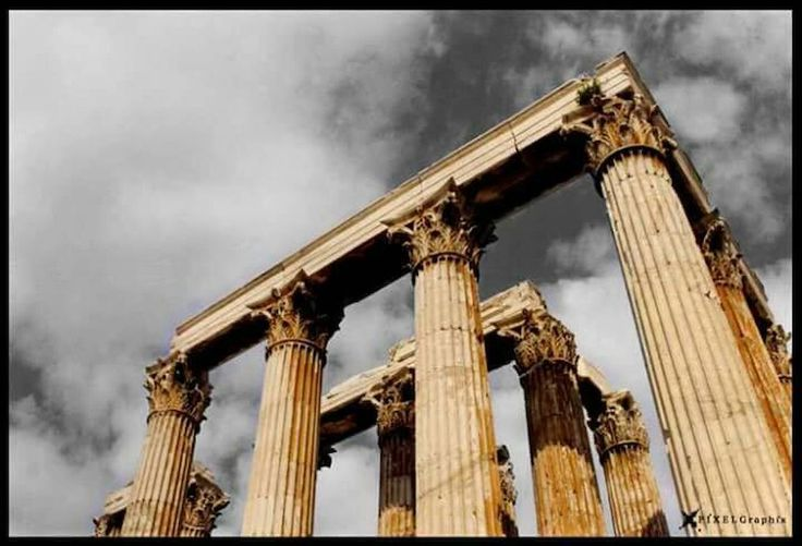 Instagreece Photooftheday Pixelgraphix Arquitecture Ancient Architecture Temple Of Zeus  Athens Temples Temple Of Olympian Zeus Zeus