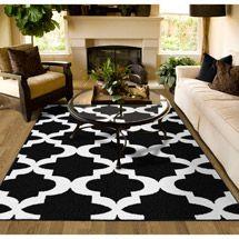 rug grey dp kitchen paterson collection home ca amazon moroccan ottomanson design trellis area contemporary lattice