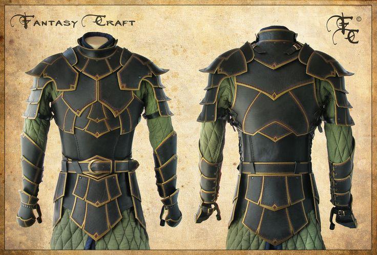 http://fantasy-craft.deviantart.com/art/Fantasy-leather-armor-298132754