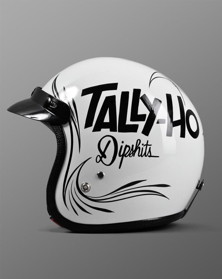 Helmet - Tally-Ho design by Mcbess