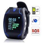 Montre GPS Traceur équipée d'un bouton d'urgence. Géolocalisez depuis votre GSM, sans abonnement ! http://www.techdigitale.com/montregpstraceur-p-537.html