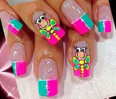 Libelulas Uñas Nails Nail Designs Y Beauty Nails