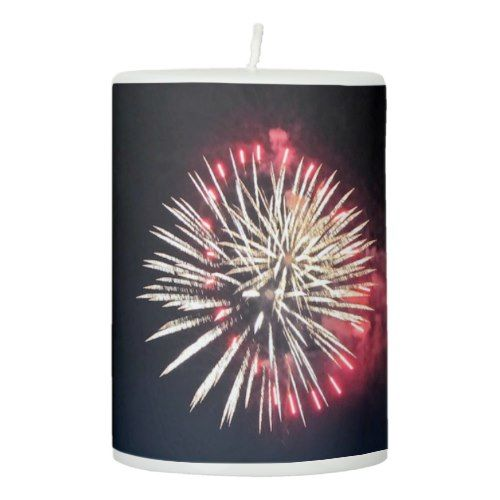 Fireworks Candle