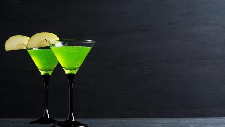Apple Martini, Appletini cocktail, ricetta originale Iba Apple Martini, vodka