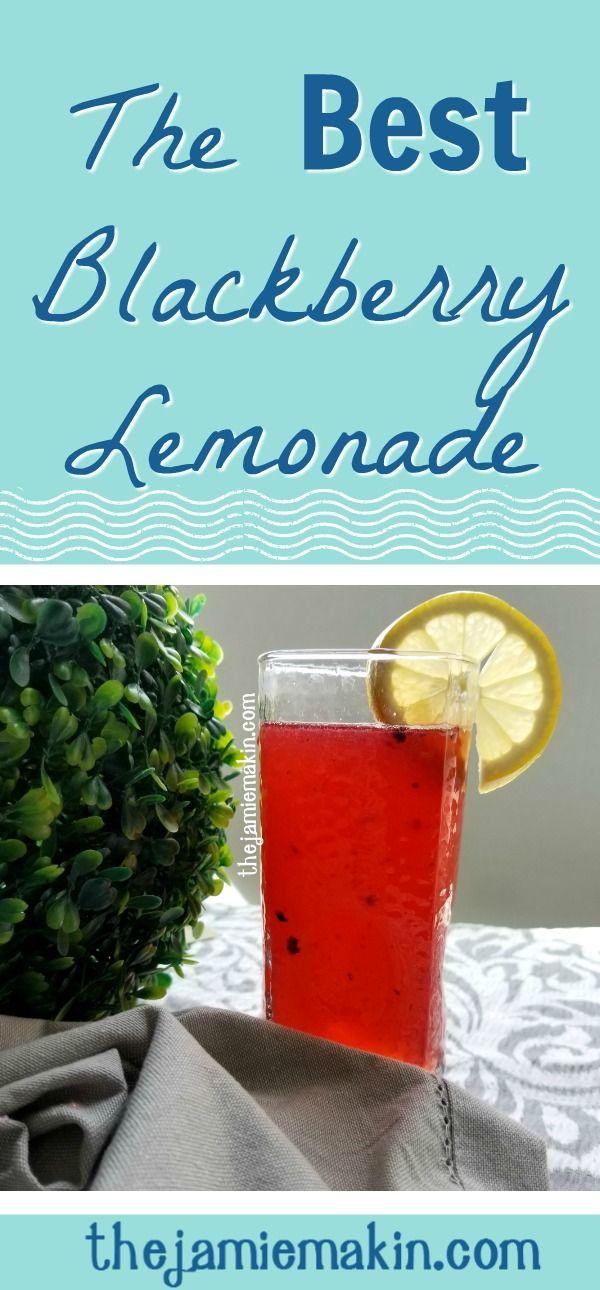Spruce up your lemonade game with the best blackberry lemonade recipe @ At Home with Jamie Makin: www.thejamiemakin.com via @TheJamieMakin