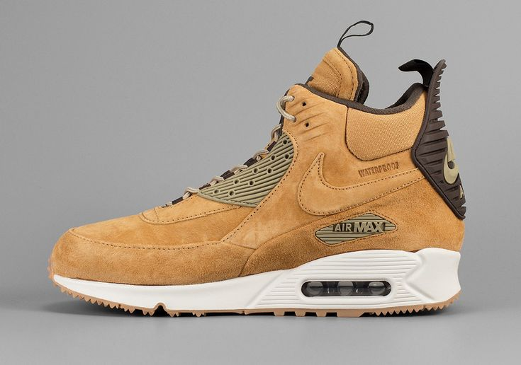 "The Nike Air Max 90 has already joined in on the annual ""Wheat"" celebration this year, but why not one more for good measure? Today we get a good look a the Nike Air Max 90 Sneakerboot, as the extended … Continue reading →"