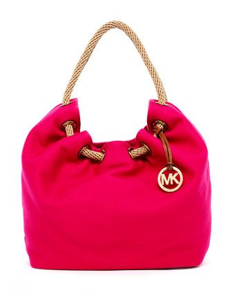 MICHAEL Michael Kors  Marina Large Shoulder Tote.      Very pretty, but wtf would I wear with this?