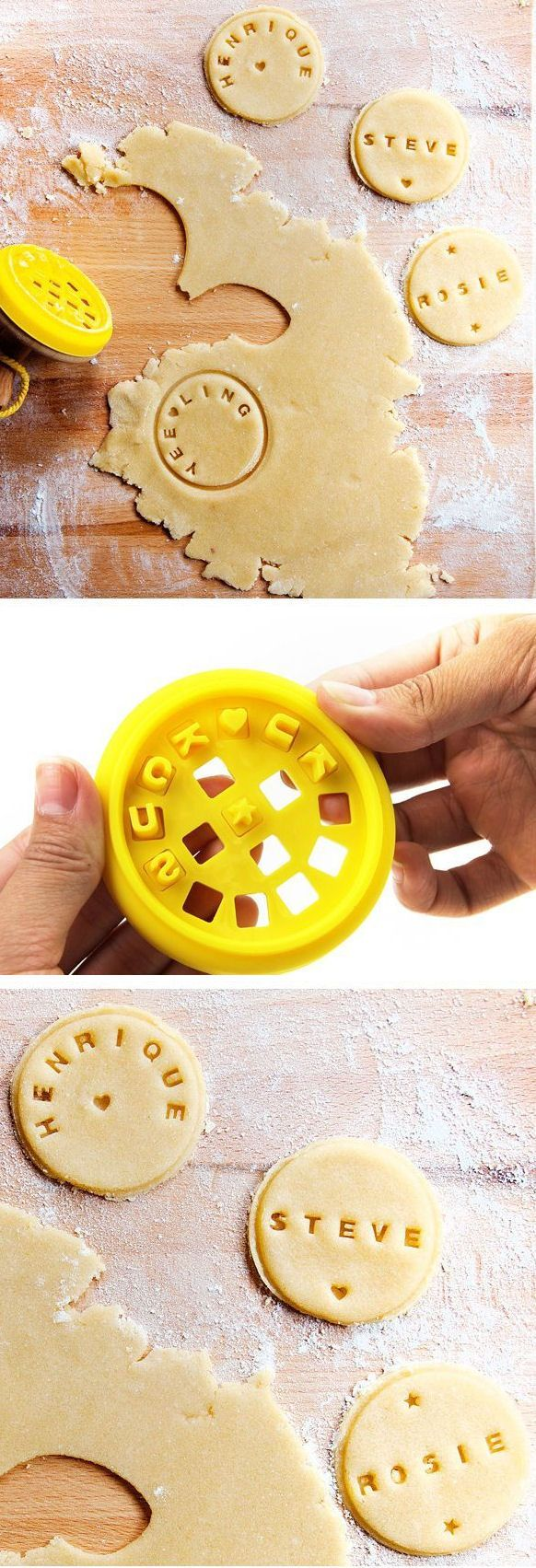 Customizable Cookie Stamper // #parties #anniversary #holidays