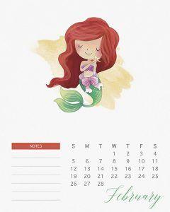 Formal calendar, February 2017