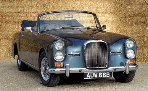 1964 Alvis TE 21 Dropehead Coupe - Car Pictures