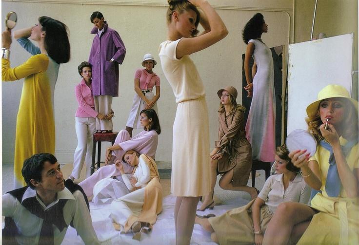 1972 - halston by duane michals  4 Vogue
