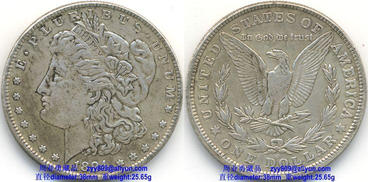 1894 Morgan Silver Dollar Legends: Obverse: E·PLURIBUS ...