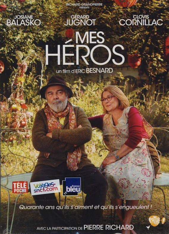 DVD Mes héros 2012 Gerard Jugnot, Josiane Balasko, Clovis Cornillac neuf zone 2