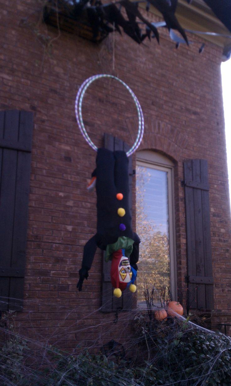 Forum member: The Halloween Lady Evil clown acrobat.