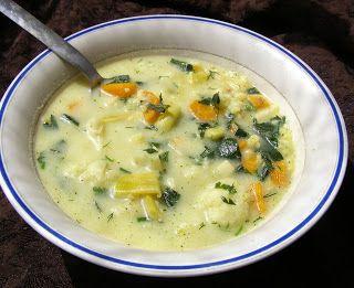 W Mojej Kuchni Lubię.. : szybka, smaczna zupa warzywna na maśle i śmietanie...