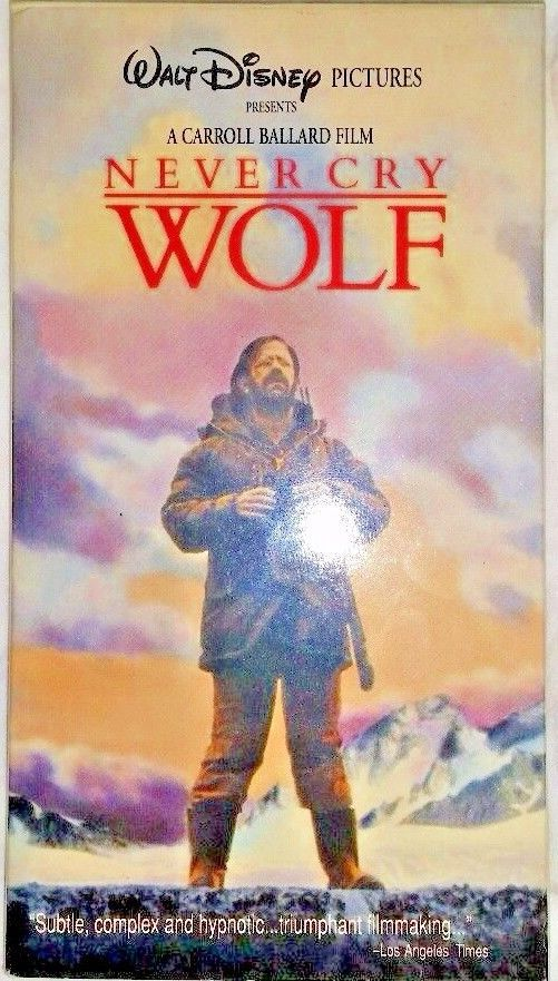 Never Cry Wolf (VHS, 1997) ***FREE SHIPPING***